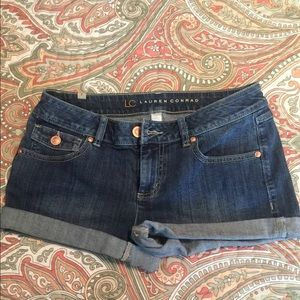 LC denim shorts